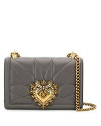 Dolce & Gabbana Devotion ショルダーバッグ Gray