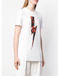 Neil Barrett プリント Tシャツ White
