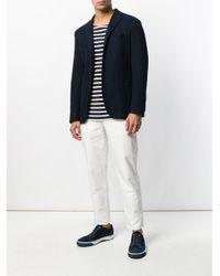 Incotex White Straight Trousers for men