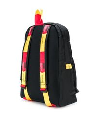 Off-White c/o Virgil Abloh Black Easy Strap Detail Backpack for men