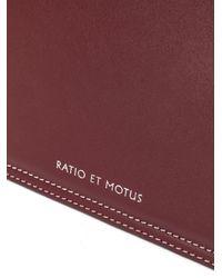 Ratio et Motus Rem ボックスハンドバッグ Multicolor