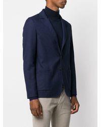 Однобортный Пиджак Узкого Кроя Tonello для него, цвет: Blue