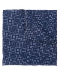 Lardini - Blue Flower Print Pocket Square for Men - Lyst
