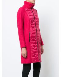 Marc Cain Pink Padded Parka