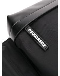 Большая Поясная Сумка С Логотипом DSquared² для него, цвет: Black