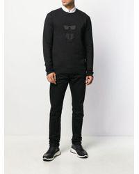 メンズ Karl Lagerfeld Ikonik Karl スウェットシャツ Black