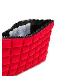Portafoglio trapuntato di No Ka 'oi in Red