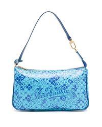 Louis Vuitton 2010 プレオウンド Cosmic Blossom ハンドバッグ Blue