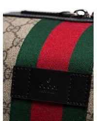 Trousse de toilette GG Supreme Gucci pour homme en coloris Brown