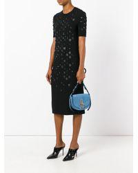 Nina Ricci - Blue Saddle Bag - Lyst