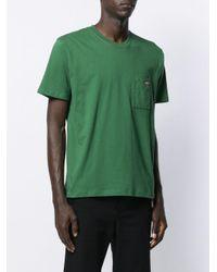 メンズ Affix プリント Tシャツ Green