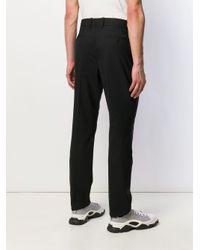 メンズ Maison Margiela テーラード スリムパンツ Black