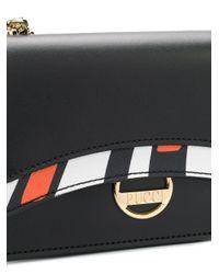 Emilio Pucci カラーブロック ミニバッグ Black
