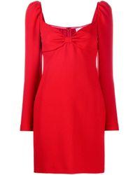 Vestito con fiocco di RED Valentino in Red
