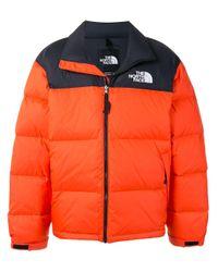 メンズ The North Face Retro Nuptse ジャケット Orange