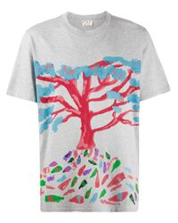 Marni Gray Tree Print T-shirt for men