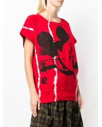 Felpa Mickey Mouse di Faith Connexion in Red
