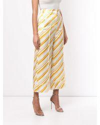 Pantaloni a righe di Racil in Multicolor