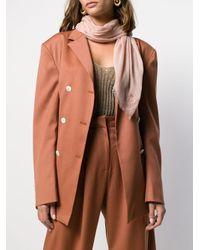 M Missoni ロゴ スカーフ Pink