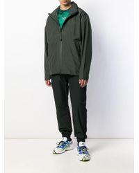 Chaqueta con cremallera Adidas de hombre de color Gray