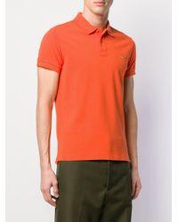 メンズ Etro クラシック ポロシャツ Orange