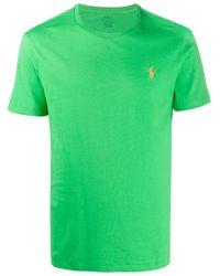 メンズ Polo Ralph Lauren ロゴ Tシャツ Green
