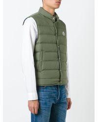 Moncler Green Febe Padded Jacket for men