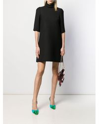 Dolce & Gabbana タートルネック シフトドレス Black