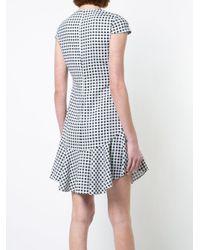 Likely - Black Gingham Dress - Lyst