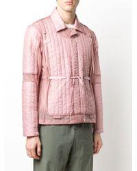 メンズ Craig Green キルティング パネルジャケット Pink