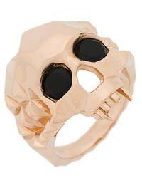 Kasun - Metallic Vampire Skull Ring - Lyst