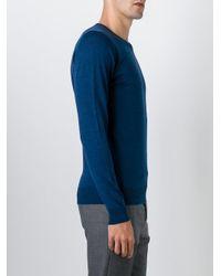 John Smedley - Blue 'ashmount' Sweater for Men - Lyst