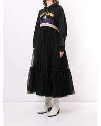 Платье Tiu С Контрастной Отделкой Viktor & Rolf, цвет: Black
