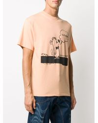 Aries Stoner Bear Tシャツ Orange