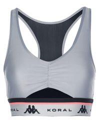 Koral Trace Energy スポーツブラ Black