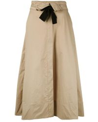 Dorothee Schumacher - Natural Tie Up Skirt - Lyst