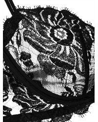 La Perla - Black Balconette Lace Bra - Lyst