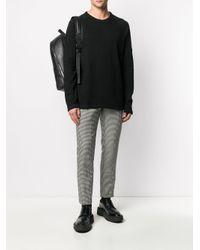 メンズ Calvin Klein クルーネック スウェットシャツ Black