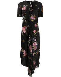 Preen Line フローラル ドレス Black