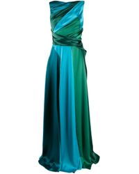 Talbot Runhof Green Solymar Gown