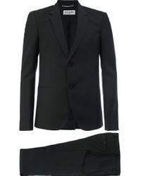 メンズ Saint Laurent ツーピーススーツ Black