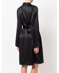 Robe de chambre en soie La Perla en coloris Black