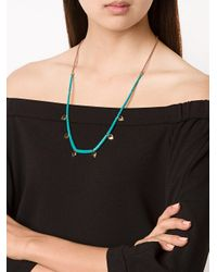 Lizzie Fortunato | Blue 'simple' Necklace | Lyst