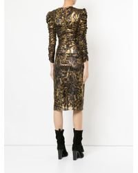 Isabel Marant Metallic Damia Midi Dress