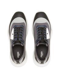 """Fendi Sneakers mit """"Bag Bugs""""-Design in Black für Herren"""