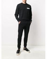 メンズ John Richmond ロゴ スウェットシャツ Black