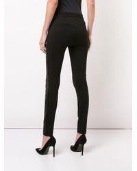 PAIGE Tereza Skinny Pants Black