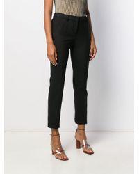 Pantaloni slim di Incotex in Black