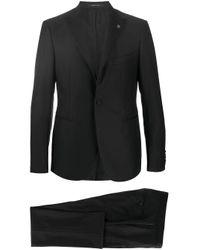 Smoking classique Tagliatore pour homme en coloris Black