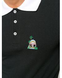 メンズ CASABLANCA Casa Hotel ポロシャツ Black